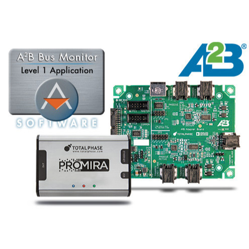 A2B Bus Monitor Level 1 mit Promira Platform