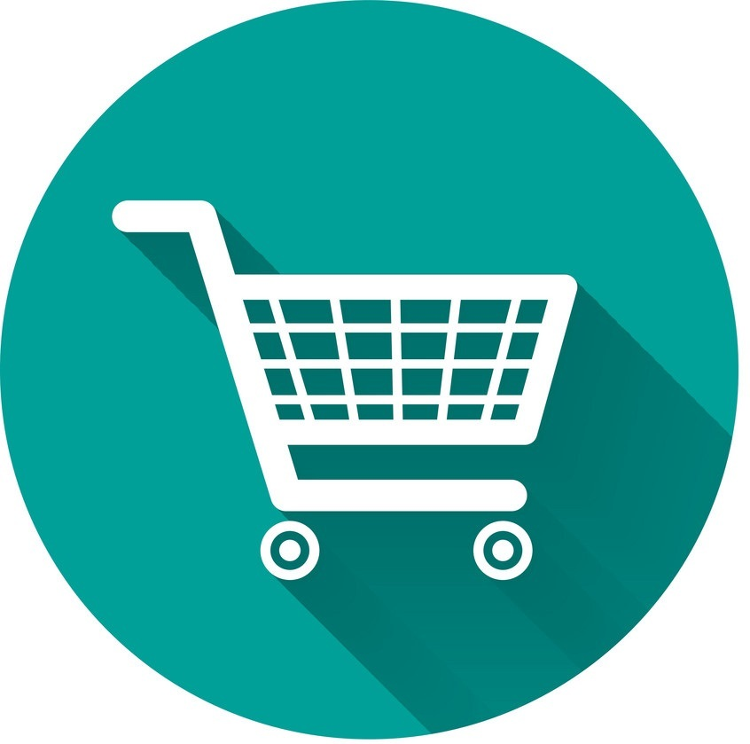 shopping-cart-flat-icon-on-green-with-long-shadow-vector-8703543