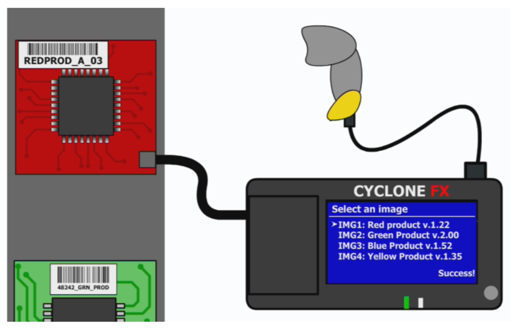 PEmicro Cyclone-fx Barcode-scanning